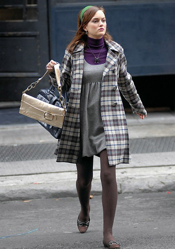 Leighton meester casual style 2013