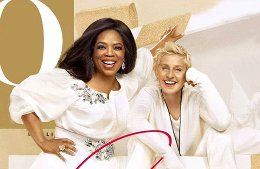 a comparison of the similarities and differences between ellen degeneres and oprah winfrey