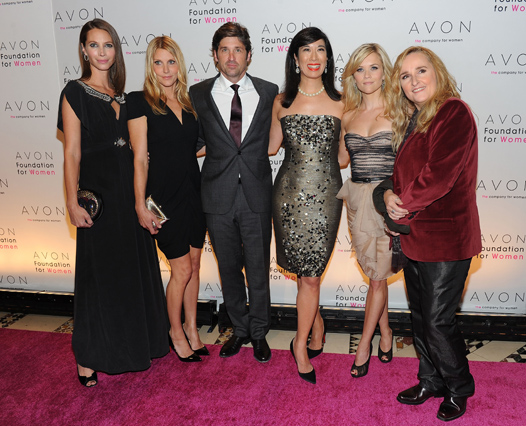 Звезды на Avon Foundation For Women Gala