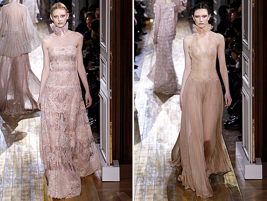 Paris Fashion Week, Valentino, весна-лето 2011