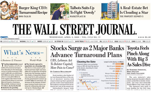 The wall street journal 2019s (wsj)