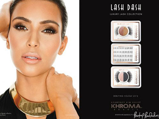 ким кардашьян для косметики khroma beauty