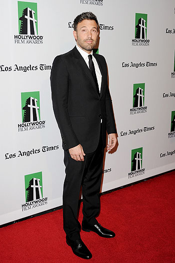 Бен Аффлек на Hollywood Film Awards 2012