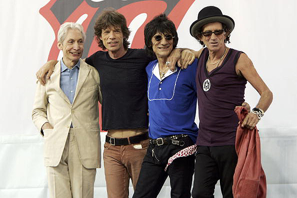 The Rolling Stones 2005 год