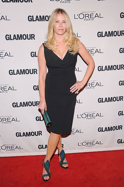 Челси Хэндлер на премии Glamour Women of the Year