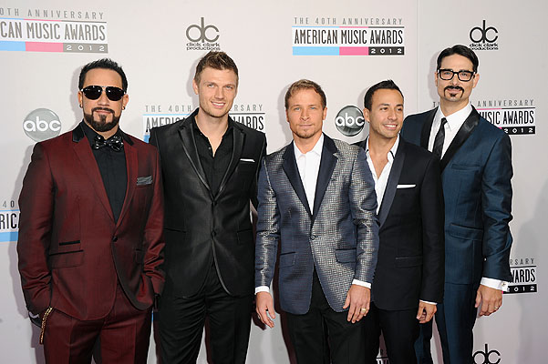 Backstreet Boys на American Music Awards 2012