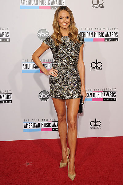 Стейси Киблер на American Music Awards 2012