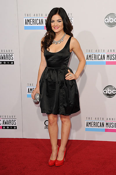 Люси Хейл на American Music Awards 2012