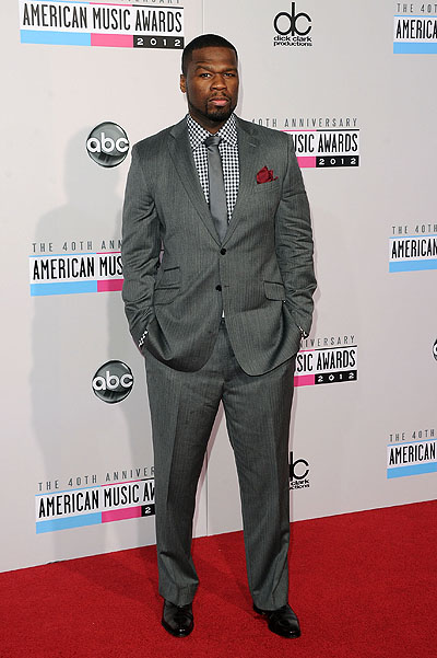 50 cent на American Music Awards 2012