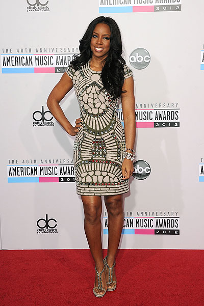 Келли Роулэнд на American Music Awards 2012