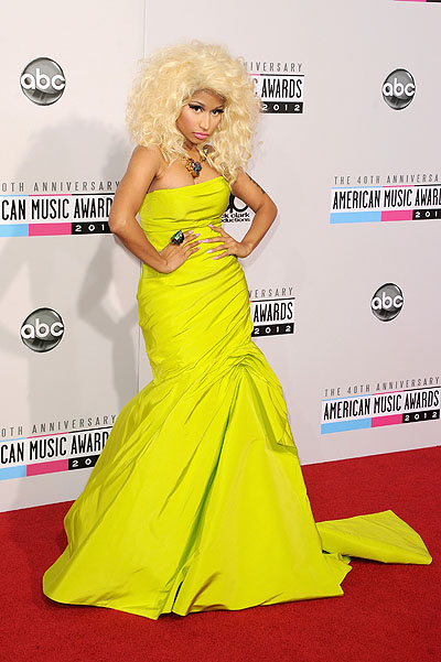 Никки Минаж на American Music Awards 2012