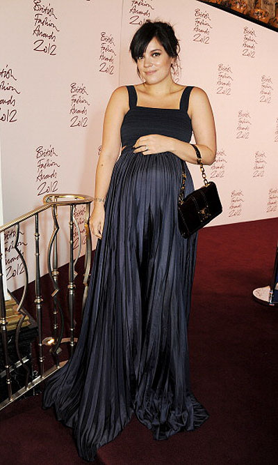 Лили Аллен на British Fashion Awards 2012