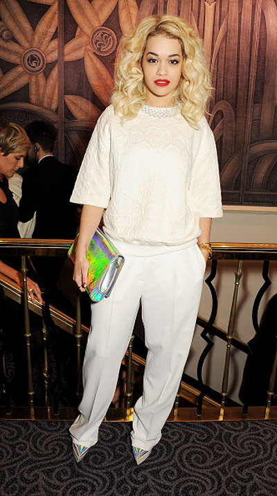Рита Ора на British Fashion Awards 2012