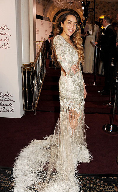 Делайла на British Fashion Awards 2012