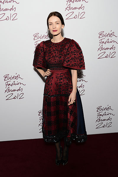 Роксанда Илинчич на British Fashion Awards 2012