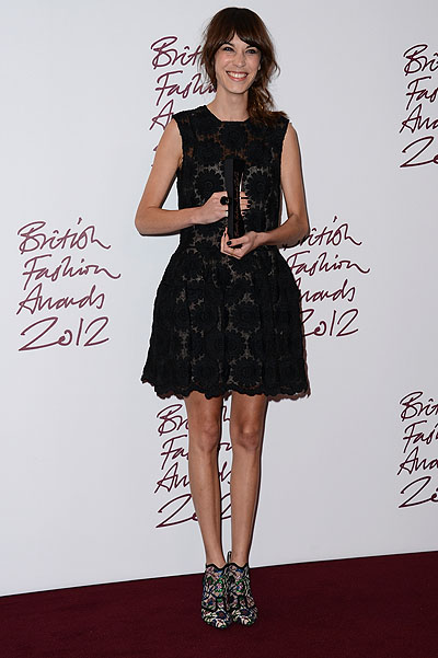 Алекса Чанг на British Fashion Awards 2012