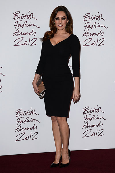 Келли Брук на British Fashion Awards 2012