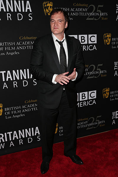 Квентин Тарантино на церемонии BAFTA Britannia Awards в Лос-Анджелесе