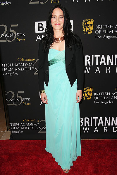 Франка Потенте на церемонии BAFTA Britannia Awards в Лос-Анджелесе