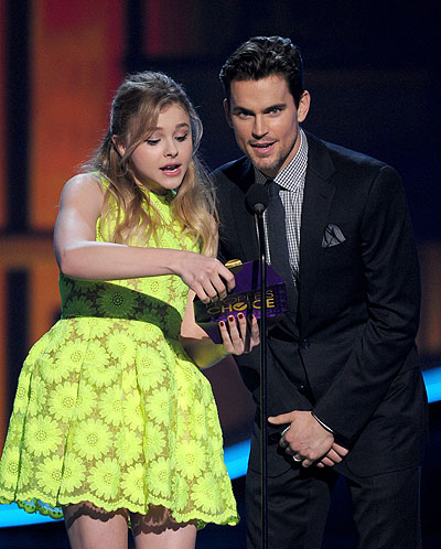 Хлоя Морец Мэтт Бомер People's Choice Awards 2013
