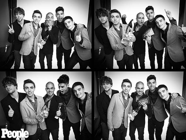 The Wanted фотосессия People's Choice Awards