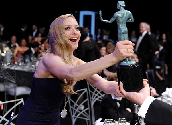 Аманда Сэйфрид на Screen Actors Guild Awards-2013