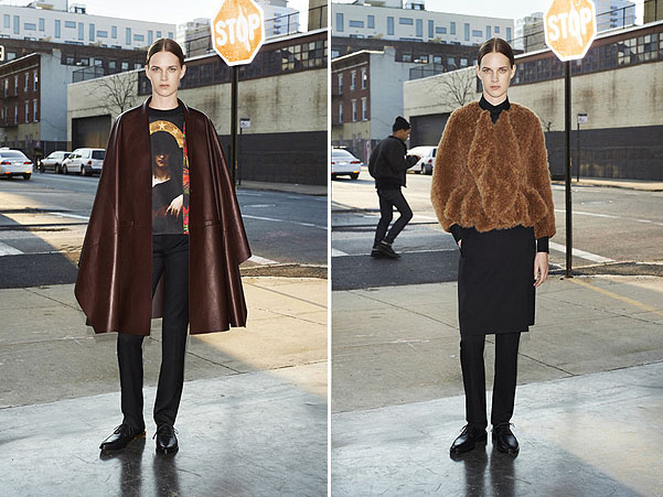 лукбук givenchy prefall 2013