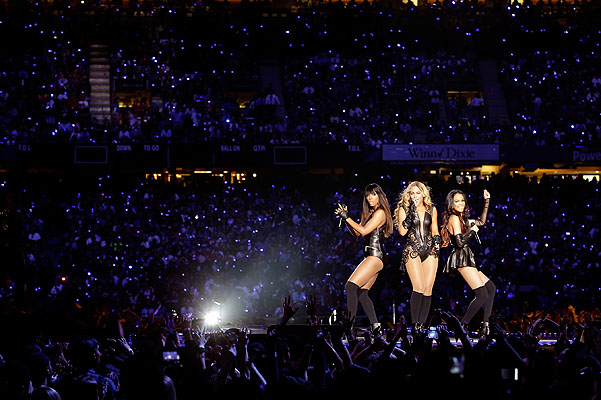 Super Bowl Бейонсе Destiny's Child