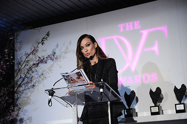 Оливия Уайлд на церемонии DVF Awards