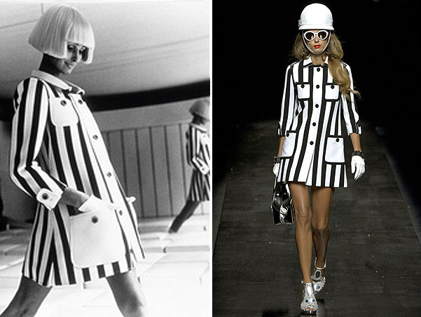 Andre Courreges, Moschino Cheap & Chic