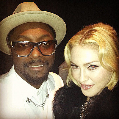 Madonna и Will.i.am на Billboard Music Awards