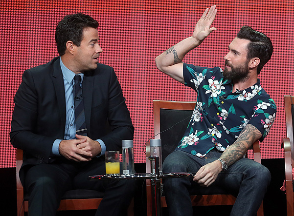 адам ливайн на NBC's Summer TCA Tour