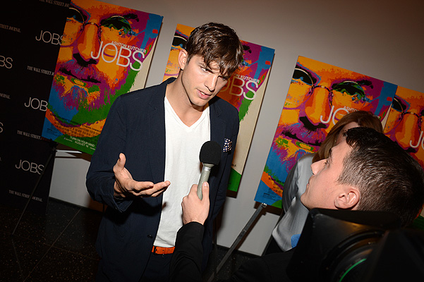 ashton kutcher steve jobs premiere