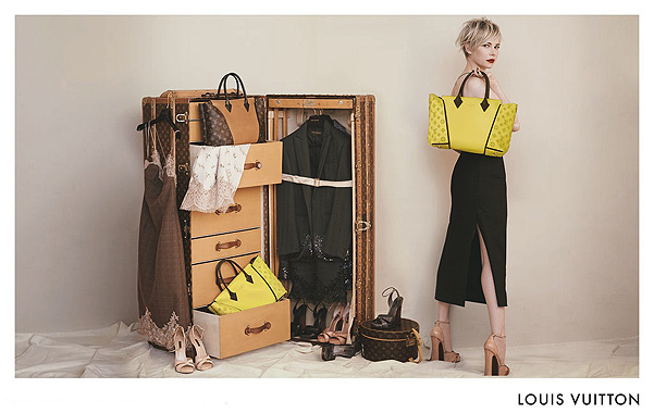 Мишель Уилльямс для Louis Vuitton: полная кампания