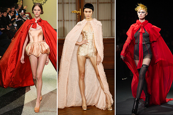 Кадры с показов коллекций Ulyana Sergeenko Couture, Oscar Carvallo, John Galliano