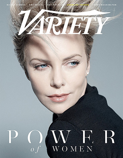 звезды в проекте Variety's Power of Women Шарлиз терон