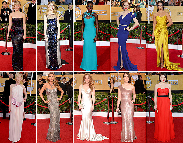Screen Actors Guild Awards-2014: лучшие платья