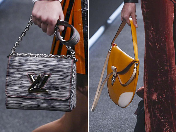 Кадры с показа Louis Vuitton