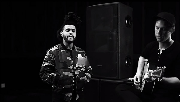 Музыкант The Weeknd