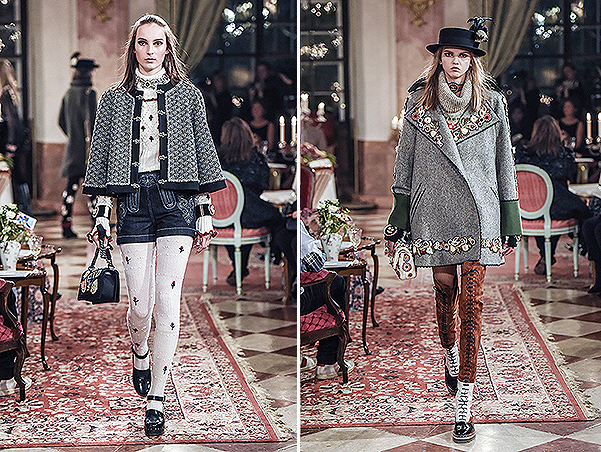 Показ коллекции Chanel Metiers d'Art Paris-Salzburg