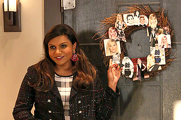"Минди Калинг в сериале ""The Mindy Project"""