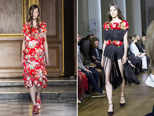Simone Rocha, London Fashion Week/Marchesa, London Fashion Week
