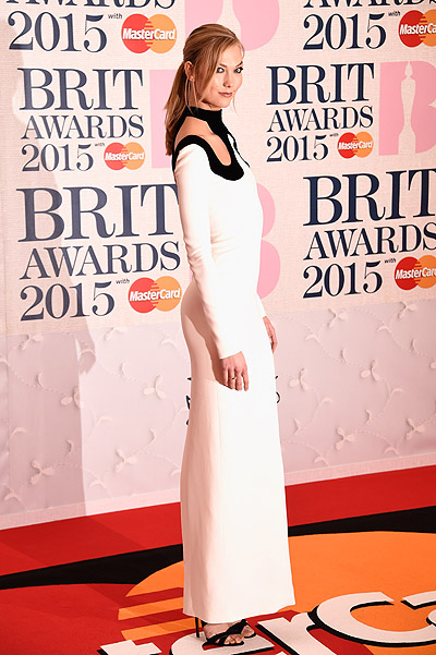 Карли Клосс на BRIT Awards-2015