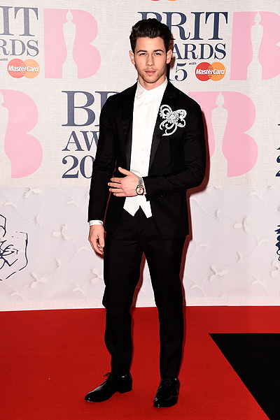 Ник Джонас на BRIT Awards-2015
