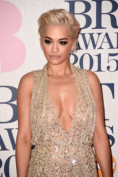 Рита Ора на BRIT Awards-2015