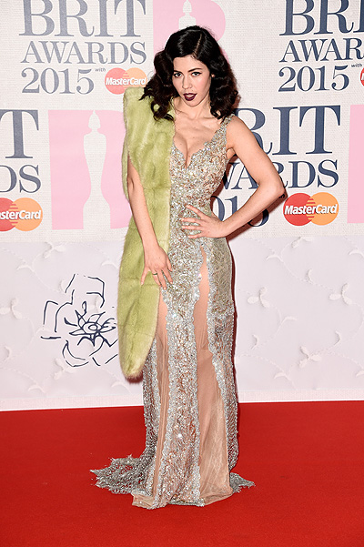 Марина Диамандис на BRIT Awards-2015