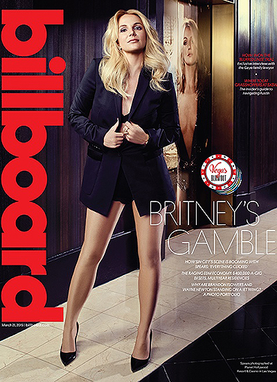 Бритни Спирс на обложке Billboard Magazine