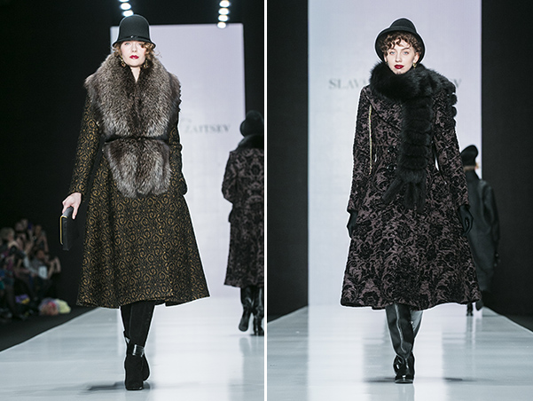 86f7afb05674 Mercedes Benz Fashion Week Russia  показ Славы Зайцева   СПЛЕТНИК