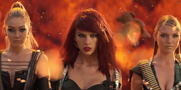 Тэйлор Свифт представила клип на песню Bad Blood