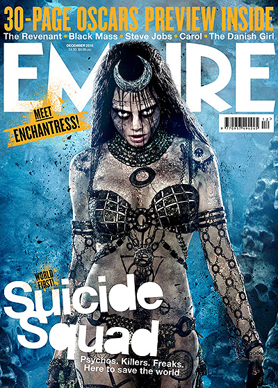 Кара Делевинь на обложке Empire Magazine
